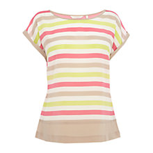 Buy Wishbone Stella Stripe Top, Multi Online at johnlewis.com
