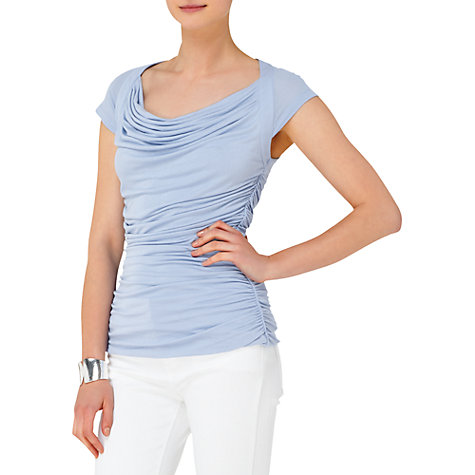 Buy Phase Eight Louisa Top, Blue Online at johnlewis.com