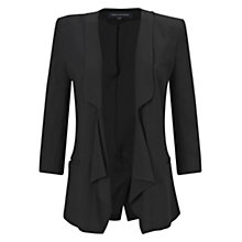 Buy French Connection Connie Crepe Jacket, Black Online at johnlewis.com