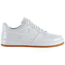Buy Nike Air Force One Women's Leather Trainers Online at johnlewis.com