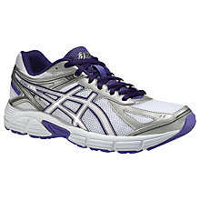 Buy Asics Patriot 7 Women's Running Shoes, White/Purple Online at johnlewis.com