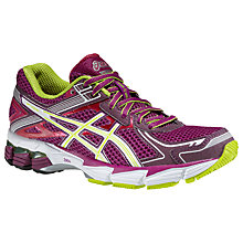 Buy Asics GT-1000 V2 Women's Running Shoes, Purple/White Online at johnlewis.com