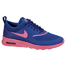 Buy Nike Women's Air Max Thea Trainers, Deep Royale Blue Online at johnlewis.com