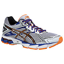 Buy Asics GT-1000 V2 Men's Running Trainers, White/Black Online at johnlewis.com