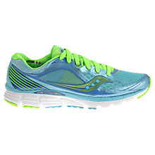 Buy Saucony Kinvara 5 Women's Running Shoes, Blue/Slime Online at johnlewis.com