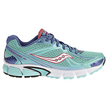 Buy Saucony Ignition 5 Women's Running Shoes, Blue/Pink Online at johnlewis.com