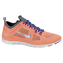 Buy Nike Women's Free TR 4 Cross Trainers, Bright Mango/Wolf Grey Online at johnlewis.com