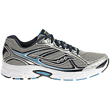 Buy Saucony Ignition 5 Men's Running Shoes, Grey/Blue Online at johnlewis.com