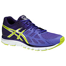 Buy Asics Gel Zaraca 3 Women's Running Shoes, Purple/Green Online at johnlewis.com