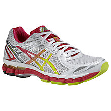 Buy Asics GT-2000 V2 Women's Running Shoes, White/Green Online at johnlewis.com