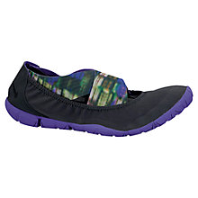 Buy Nike Women's Studio Wrap Pack Cross Trainers, Black/Hyper Grape Online at johnlewis.com
