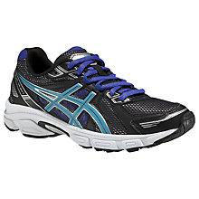 Buy Asics GEL-Galaxy 7 Women's Running Shoes, Black/Blue Online at johnlewis.com