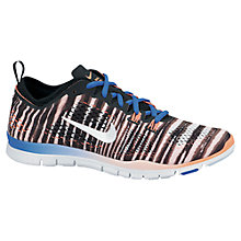 Buy Nike Women's Free TR 4 Cross Trainers, Black/White Online at johnlewis.com