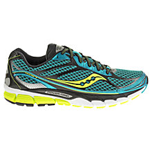 Buy Saucony Ride 7 Men's Running Shoes, Blue/Black Online at johnlewis.com