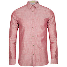 Buy Ted Baker Staver Long Sleeve Shirt Online at johnlewis.com