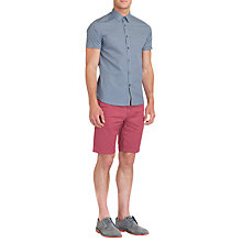 Buy Ted Baker Breath Short Sleeve Shirt Online at johnlewis.com