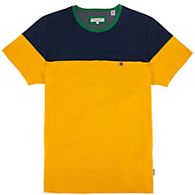 Buy Ted Baker Wilcox Short Sleeve T-Shirt, Yellow Online at johnlewis.com