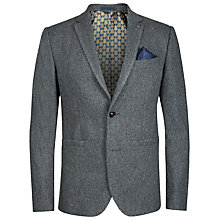 Buy Ted Baker Forel Wool Flannel Blazer, Grey Online at johnlewis.com