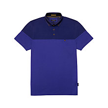 Buy Ted Baker Wookpol Polo Shirt, Purple Online at johnlewis.com