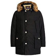 Buy Woolrich John Rich & Bros. Down Filled Arctic Parka, Black Online at johnlewis.com