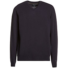 Buy Woolrich John Rich & Bros. Mill V-Neck Jumper Online at johnlewis.com