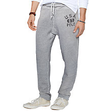 Buy Polo Ralph Lauren Drawstring Sweat Pants, Grey Online at johnlewis.com