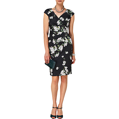 Buy Phase Eight Camille Floral Dress, Black/Multi Online at johnlewis.com