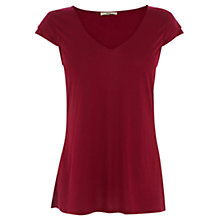 Buy Oasis Double Cap Sleeve Tee Online at johnlewis.com