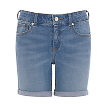 Buy Oasis Authentic Wash Long Short, Denim Online at johnlewis.com