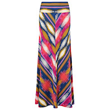 Buy Phase Eight Clemance Print Maxi Skirt, Multi Online at johnlewis.com