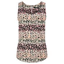 Buy Oasis Ditsy Vest, Multi Online at johnlewis.com