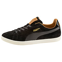 Buy Puma Modern Court Citi Series Suede Trainers, Black Online at johnlewis.com