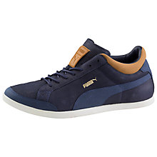 Buy Puma LoPro Tarrytown Trainers, Navy Online at johnlewis.com