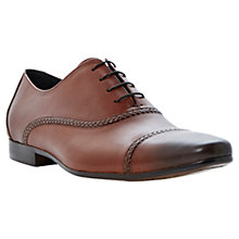 Buy Dune Rafters Leather Oxford Shoes, Tan Online at johnlewis.com