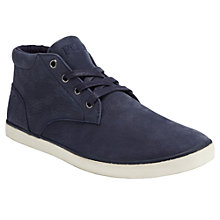 Buy Polo Ralph Lauren Odie Nubuck Hi Top Trainers Online at johnlewis.com