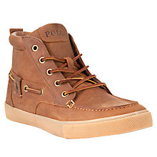 Buy Polo Ralph Lauren Tristen Boot, Tan Online at johnlewis.com