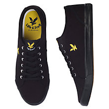 Buy Lyle & Scott Halket Canvas Trainers Online at johnlewis.com