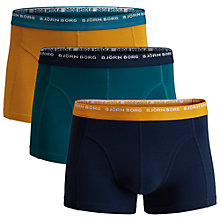 Buy Bjorn Borg Seasonal Trunks, Pack of 3, Multi Online at johnlewis.com