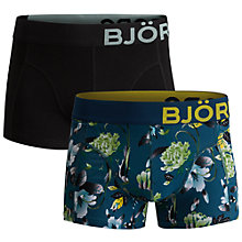 Buy Bjorn Borg Wildlife Trunks, Pack of 2, Blue Online at johnlewis.com