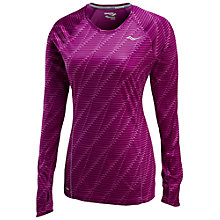 Buy Saucony Velocity Long Sleeve Running Top Online at johnlewis.com
