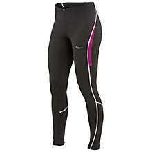 Buy Saucony Omni LX Running Tights, Black/Plum Online at johnlewis.com