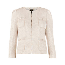 Buy Ted Baker Bow Pocket Suit Jacket, Baby Pink Online at johnlewis.com