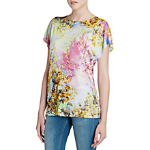 Buy Ted Baker Pretty Trees T-Shirt, Dusty Pink Online at johnlewis.com