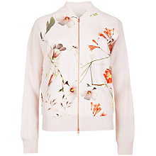 Buy Ted Baker Botanical Bloom Jacket, Pale Pink Online at johnlewis.com