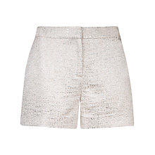 Buy Ted Baker Bow Pocket Suit Shorts, Baby Pink Online at johnlewis.com