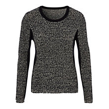 Buy Viyella Silhouette Knit Jumper, Navy Online at johnlewis.com