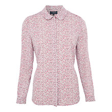 Buy Viyella Petite Ditsy Print Blouse, Ivory Online at johnlewis.com