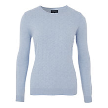 Buy Viyella Petite Bobble Jumper, Harebell Online at johnlewis.com