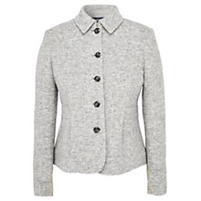 Buy Viyella Boiled Wool Jacket, Grey Online at johnlewis.com