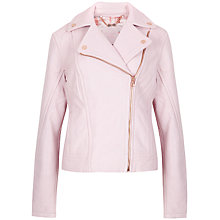 Buy Ted Baker Leather Biker Jacket Online at johnlewis.com